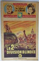 Roman LES ENFANTS DE LA LORRAINE N°43 AVEC LA 2ème DIVISION BLINDEE H D'ALZON BRANTONNE   Collection Jeune France 1948 - Aventure