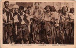 BOSNIEN-SARAJEVO-BASANCI I BOSANCKE-1918 - Bosnia Erzegovina