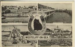 Westcliff On Sea V. 1952  4 Ansichten  (265) - Southend, Westcliff & Leigh