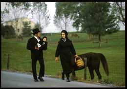Amish Country : Amish Seasons En Route Vers L'église - Lancaster