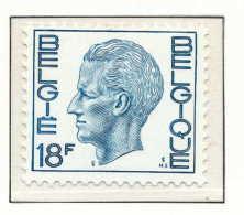 D- [150902] **/Mnh-N° 1586, 18F Bleu-gris, Type Elstrom, Papier Phosphore, SNC - 1970-1980 Elström