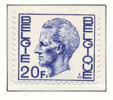 D- [150907] **/Mnh-N° 1587P4, 20F Bleu-violet, Type Elstrom, Papier Polyvalent, SNC - 1970-1980 Elström