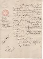 Jen. Bureau De Bienfaisance. N°7. Baudour Le 10/02/1834. - Belgien