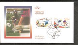 FDC 2004   SPORT DE GLISSE - FDC