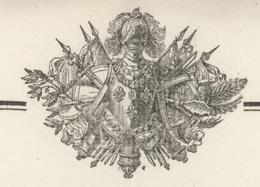Besançon 1823 Service Territorial Des Vétérans Certificat De Renvoi Héraldique - Documentos Históricos