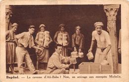 ¤¤  -   IRAK   -  BAGDAD   -  La Caverne D'Ali-Baba ?  -  Non, Un Arrivage Aux Entrepôts Michelin      -  ¤¤ - Iraq