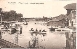 NANTES (44) L'Erdre Vers Le Pont De La Motte-Rouge - Nantes