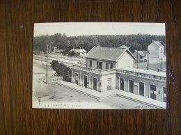 Carte Postale Ancienne De Pornichet: La Gare - Pornichet