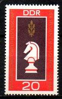 RDA. N°1187 De 1969. Echecs. - Schaken
