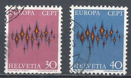 Switzerland 1972. Scott #544-5 (U) Europa * Complet Set - Suisse