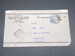 URUGUAY - Enveloppe Commerciale De Montevideo Pour La France En 1934  - L 18162 - Uruguay