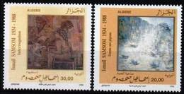 Année 1996-N°1118/1119 Neufs**MNH : Oeuvres D'Ismail Samson- Artiste Peintre - Algeria (1962-...)