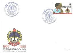 FDC 1989 - Angola