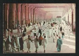 Saudi Arabia Picture Postcard Pilgrims Performing Sa,Al In Safa Marwa  View Card - Saudi Arabia