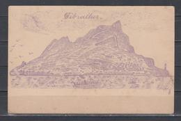 """Gibraltar Deutsche Reichspost Feld= Postkarte Mit Rs. Druck """" Gibraltar"""" Sign Kramer , Ungebraucht - Gibraltar"""