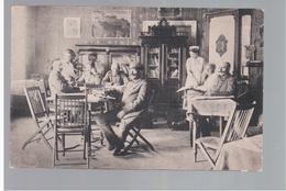 Brest- Litowsk Deutsche Soldaten, Soldatenheim, Lesezimmer Ca 1918 OLD POSTCARD 2 Scans - Belarus