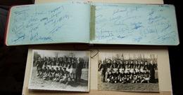 Carnet D'Autographes D'équipes De Rugby Années 50,   Stade Toulousain, S.C. Mazamet, Cambridge - Mazamet