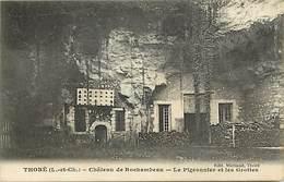 - Dpts Div.-ref-ZZ482- Loir Et Cher - Thore La Rochette - Chateau De Rochambeau - Pigeonnier Et Grottes - Pigeonniers - - Frankreich