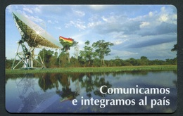 BO-ENTEL-025A Radar 31/12/1998 MINT - Bolivia
