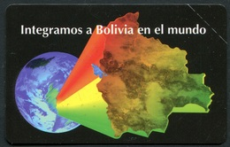 BO-ENTEL-027A Bolivia In The World 31/12/1998 MINT - Bolivia