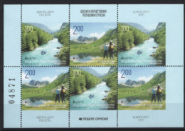 Bosnia Erzegovina Serba 2012 CEPT Unif.569B/70B Minisheet **/MNH VF - Bosnia Herzegovina
