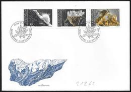 Liechtenstein: FDC, Minerali Diversi, Différents Minéraux, Different Minerals - Minerali