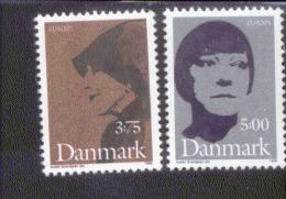 CEPT Berühmte Frauen / Famous Women Dänemark 1124 - 1125  ** Postfrisch, MNH, Neuf - Europa-CEPT