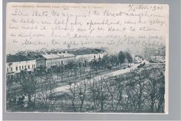 Brest- Litowsk Rue De Chaussee 1901 OLD POSTCARD 2 Scans - Belarus