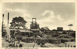Southern Rhodesia, Small Workers Mine Plant (1924) Tuck Postcard - Zimbabwe