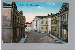 Grodno Ulica Murawjewska 1916 Feldpost OLD POSTCARD 2 Scans - Belarus