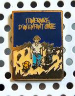 Pin's émaillé Doré Collection Studio Magazine 1984 Affiche De Itinéraire D'un Enfant Gâté De Claude Lelouch - Films