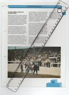 18/6 Fiche Jeux Olympiques 26,5 X 20 Cm 2 Scans LONDON 1908 Dorando Pietri Italie Athletisme Marathon - Livres