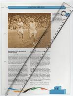 18/6 Fiche Jeux Olympiques 26,5 X 20 Cm 2 Scans STOCKOLM 1912 JAMES THORPE ATHLETISME - Libros