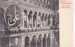 TURQUIE EN 1918,TURKEY,TURKIYE,Constantinople,KONSTANTINOUPOLIS,istanbul,mosquée ,basilique Sainte Sophie,rare,galerie - Turquie