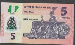 NIGERIA P38i ? 5 NAIRA 2017  UNC. - Nigeria