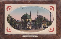 TURQUIE EN 1918,TURKEY,TURKIYE,Constantinople,KONSTANTINOUPOLIS,istanbul,fontaine Guillaume 2,rare - Turquie