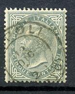 1863 - REGNO - Catg. Unif. 16 - USED - (ITA3152A.22) - 1861-78 Vittorio Emanuele II