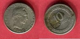 10 CENTAVOS 1949 ( KM 207.2) TB 5 - Colombia