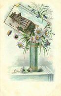 Germany, BERLIN, Königl. Schloss, Litho Postcard With Flower Vase (1899) - Germany