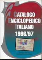 CATALOGO ENCICLOPEDICO ITALIANO 1996/7 - EDIZ . CEI MILANO - VATICANO E SAN MARINO - USATO OTTIMO STATO - Italia