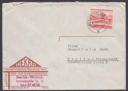 "Mi-Nr. 116, EF Auf Ortsbrief ""Berlin"" - Berlin (West)"