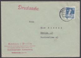 """Mi-Nr. 145, EF Auf Ortsdrucksache """"Berlin"""" - Briefe U. Dokumente"""