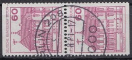 "Mi-Nr. 611 C/D, ""BuS"", Senkr. Paar, Sauber Gestempelt, O - Zusammendrucke"