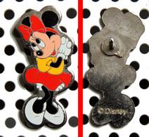 1 Pin's Disney Minnie Aux Chaussures Blanches (métal Sérigraphié) - Disney