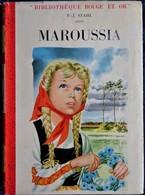 P.J. Stahl - Maroussia - Bibliothèque Rouge Et Or  - ( 1955 ) . - Bibliothèque Rouge Et Or
