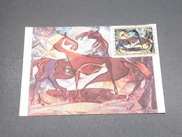 POLYNÉSIE - Carte Maximum 1972 , Tableaux  - L 18261 - Cartes-maximum