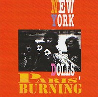 NEW YORK DOLLS - Paris Burning - CD - SKYDOG - Rock