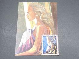 POLYNÉSIE - Carte Maximum 1971 , Tableaux  - L 18265 - Cartoline Maximum