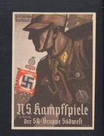 Dt. Reich PK 1937 NS Kampfspiele SA-Gruppe Südwest - Geschichte