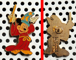 1 Pin's Disney Mickey L'apprenti Sorcier - Disney